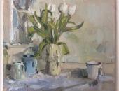 Tulips Lizzie Black