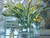 Tulips and Daffodils, Flowers, Lizzie Black