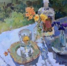 Orange Flowers and Lemonade