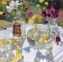 Lemonade and August Flowers