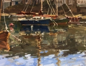Reflection of Boats