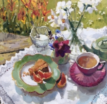 Tea with Grapefruit Lizzie Black